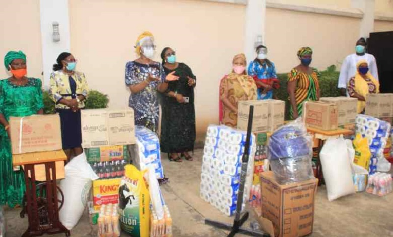 """In commemoration of the 2020, International Widows Day, the wife of the Governor of Ogun state, Mrs. Bamidele Abiodun has empowered widow representatives from the three senatorial districts of Ogun state with quantities of sewing machines, hair dryers, food items and cash among others.  At the event, held at the Mitros Hall, GRA, Ibara, Abeokuta, the First Lady, reiterated her commitment to the welfare of the women folk in the state, laying particular emphasis on the underprivileged widows.  Speaking on the theme of the year's commemoration, """"I am Generation Equality: Realizing Women's Rights"""", Mrs. Abiodun said there was need to ensure the rights of widows in the society and provide them with access to basic rights they were entitled to.  """" Now, more than ever, action is needed to ensure the full rights and recognition of widows. These include, providing them with information and access to a fair share of their inheritance, including lands, pensions and social protection that are not based on marital status alone, decent work and equal pay and education and training opportunities"""".  Nigeria Mourns Late Aramide Oikelome She said many societies had ignored the plight of widows and that their rights were often trampled upon by extended families and local traditions, calling on everyone to assist in alleviating burdens placed on them by tradition and change the harmful practices.  According to Mrs. Abiodun, there were about 258 million widows across the world and 1in10 of them lived in extreme poverty, a situation she decried, promising to ensure that widows in Ogun state were continuously cared for and empowered.  """"Personally, l want our widows to be able to determine their lives and their future, I want them to be able to make choices that will benefit them and their children. """"Our aim is to minimize the financial exposure of widows and ensure that they are cared for"""".  She highlighted the efforts of the present administration specifically targeted at helping the wid"""